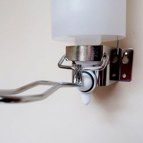 wall-mounted-hand-soap-dispenser